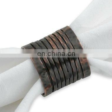 Metal Wire Woven Napkin Ring