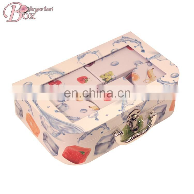 OEM Paper Wholesale Fashion Bracelet Necklace Jewelry Set Box