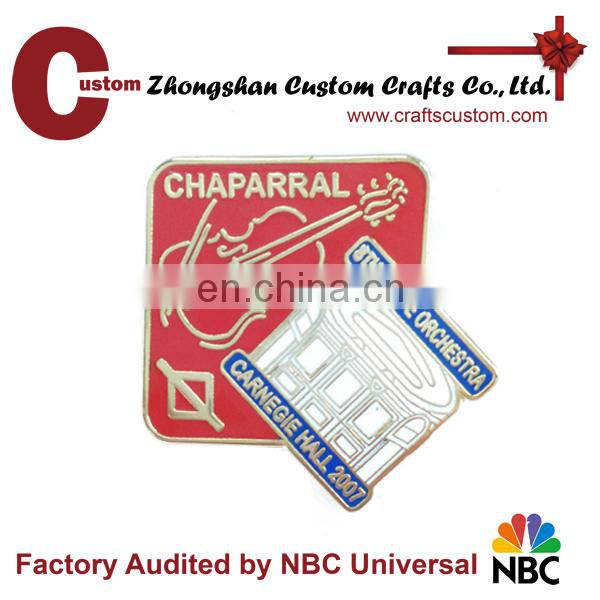 Rich factory experience lapel pin manufacturer