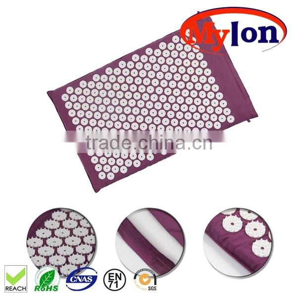 Acupuncture Massage Mat & Pillow good treatment of back pain Image