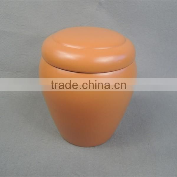 Hot sale traditional blue ceramic wholsale urns for ashes