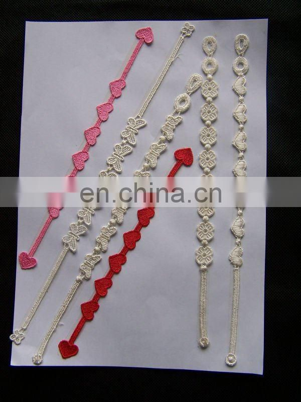 2015 hot selling lace bracelet