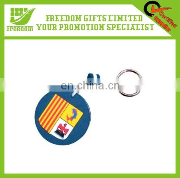 Advertising Logo Customized EVA Floating Keychain