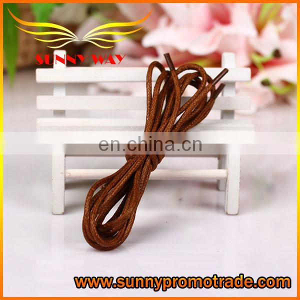 Decent high quality leather shoelace