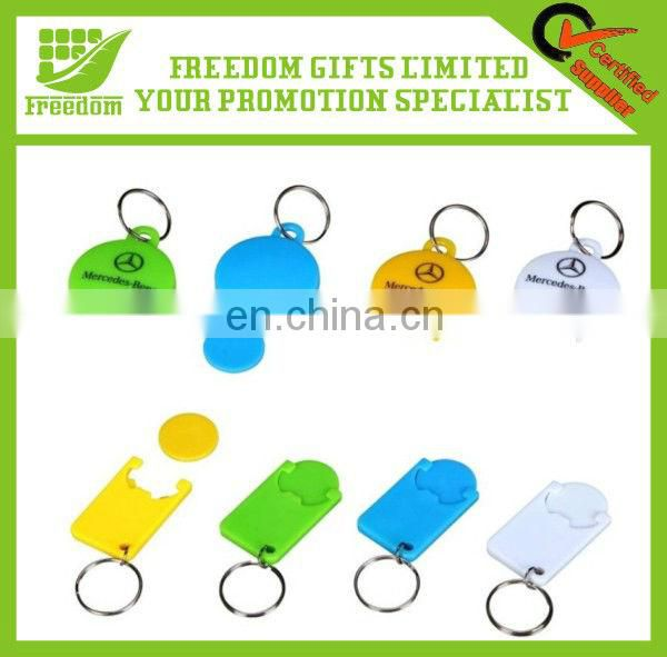 Fashion Style Plastic Key Chain