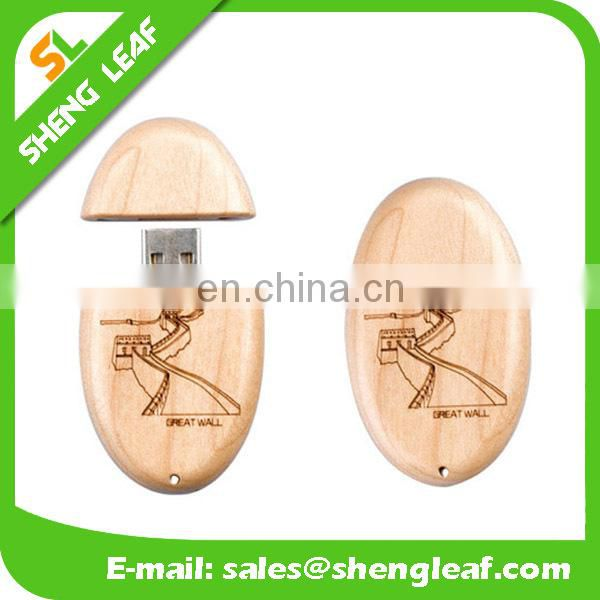 custom made new style wooden usb