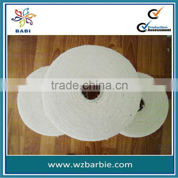 Raw White Recycled Cotton Yarn