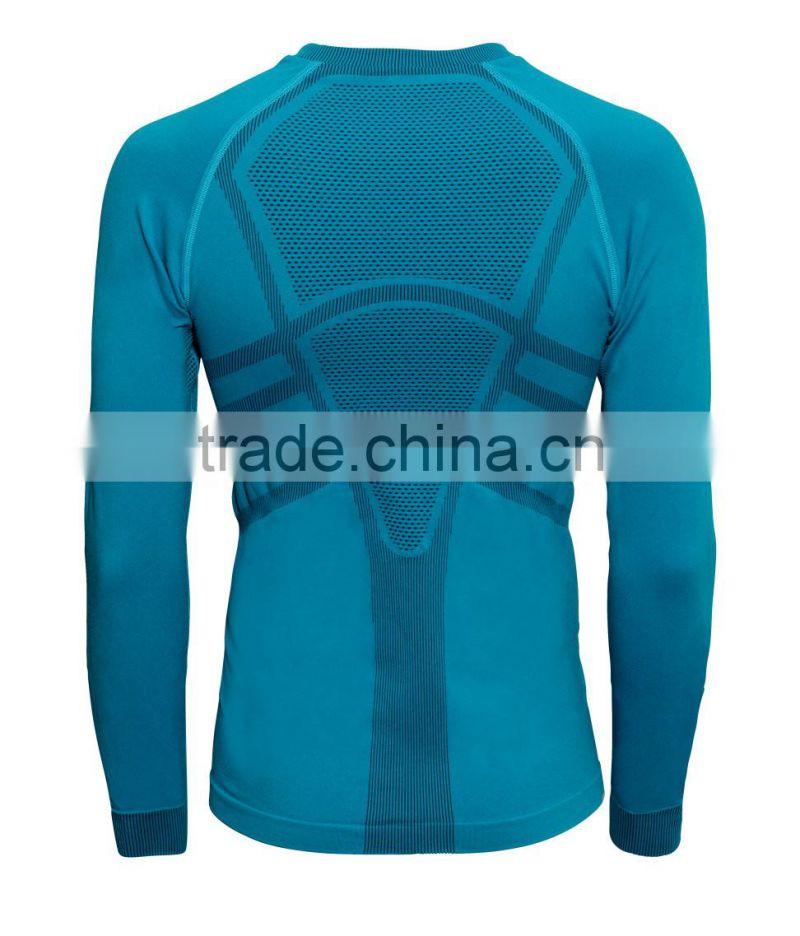 Men's Seamless Underwear, Polypropylene Seamless Thermal Underwear for Skiing, Running, Cycling