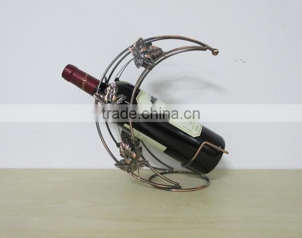 2016 new metal wine stand modern wine shelf red wine rack professional