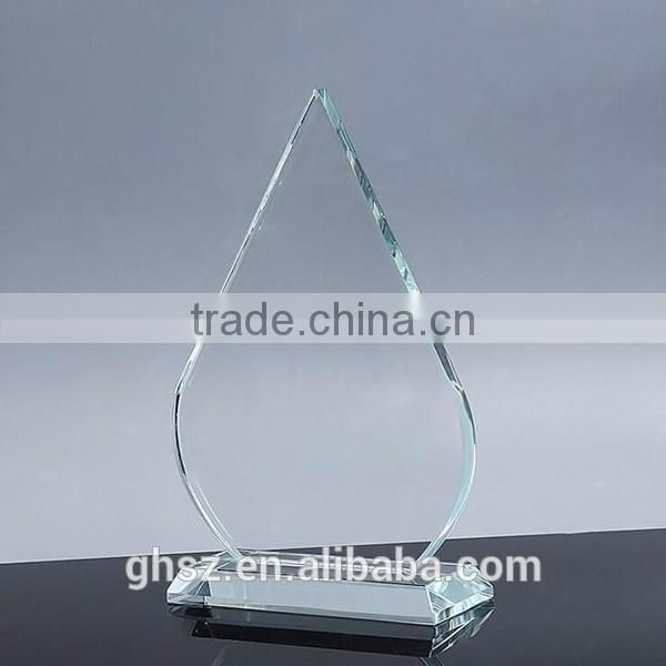 Factory price custom logo crystal grammy trophy