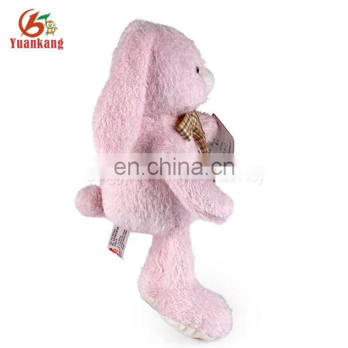 wholesale 12 inch coloured pink color plush teddy bears toy