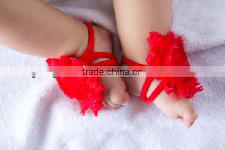 lovely baby barefoot sandals.hot sale,gift 2014