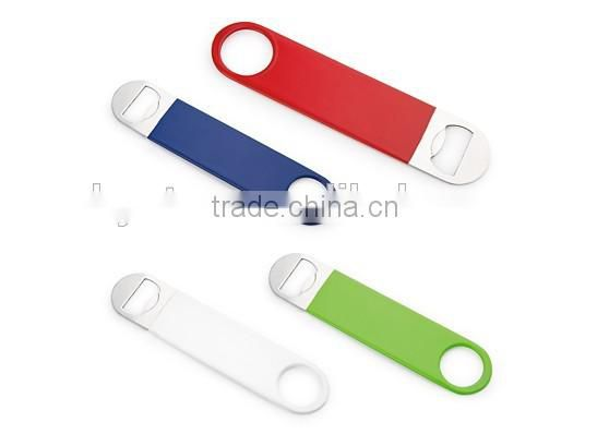 Made of durable Plastic Keychain bottle opener for opening bottles and Cans of soda & bottle opener