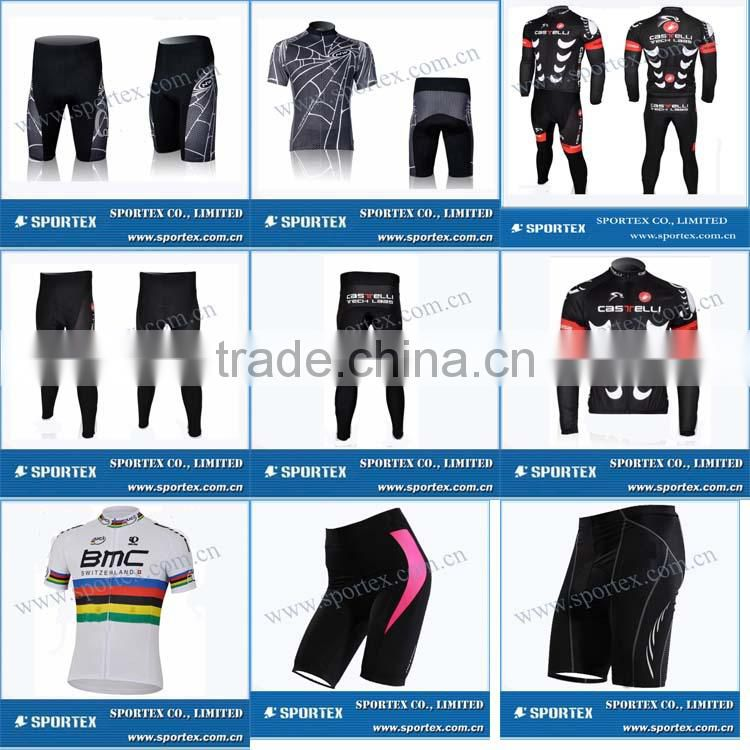 Functional Xiamen Sportex padded cycle short, padded cycling short, padded cycle shorts OEM#2428