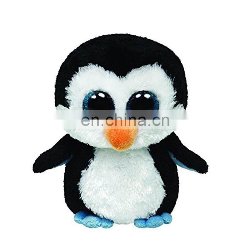 Ty Beanie Boos pink cheap promotion plush big eyes penguin toy soft plush