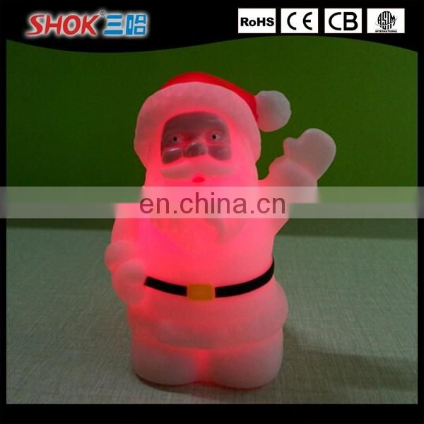 Christmas gift christmas tree shaped led mood light