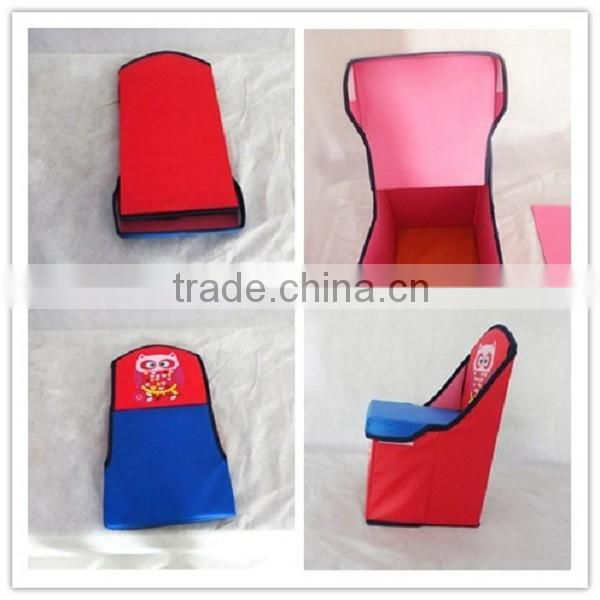 Hot Sale Carton Style Sundries Fabric Household Kids Storage Chairs