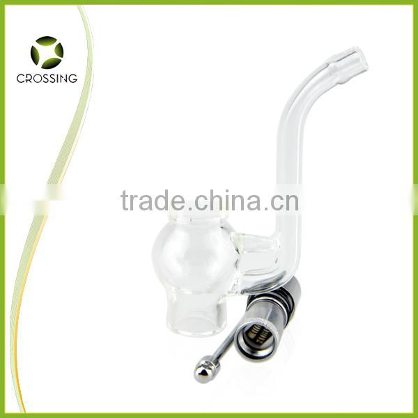 New arrival globe atomizer with quartz rod coil wax dab glass globe vaporizer for 510 thread battery