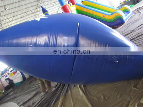 crazy inflatable water blobs with flag,inflatable aqua park equipment