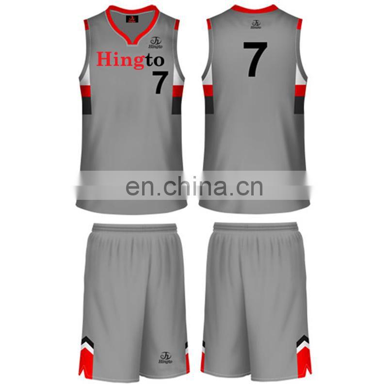 d3ab65bec8b ... 2016 latest design basketball uniform customized printing men's  basketball uniform ...