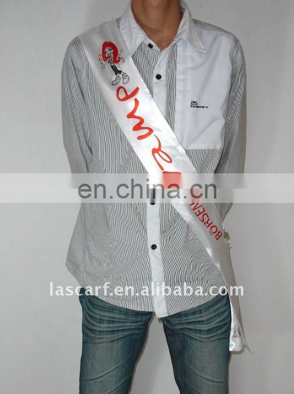 Formal sash for promotion use for feast (PS-081903)