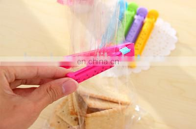 Handy date marking plastic sealing clip for food bag