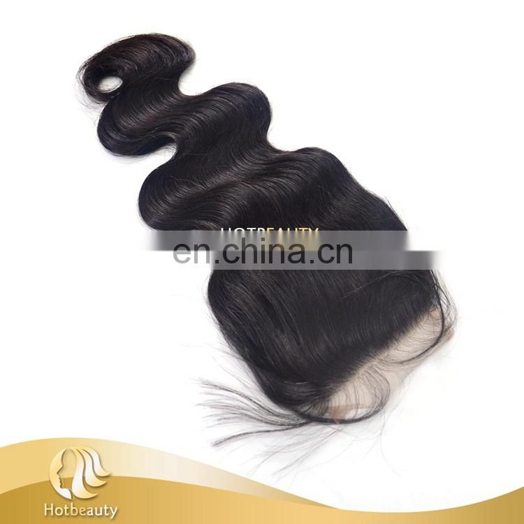 4*4 Silk Base Body Wave closure