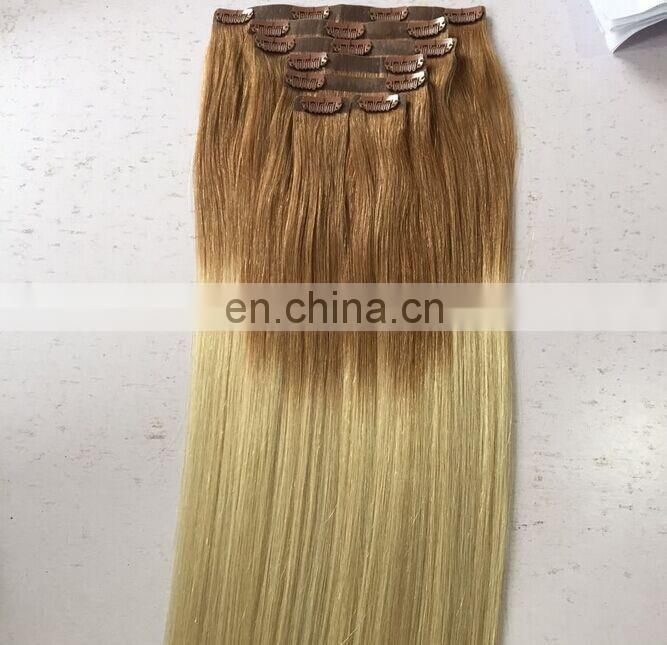 Seamless Clip In Hair Extension, Seamless Skin Weft Clip In Remy Hair Extension