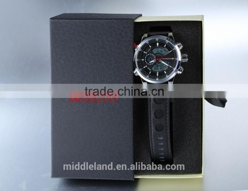 2015 hot china watch MIDDLELAND new most popular quartz analog water resistant watches made in china