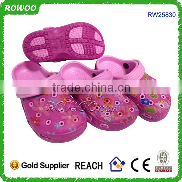 fancy children clog kids garden shoes