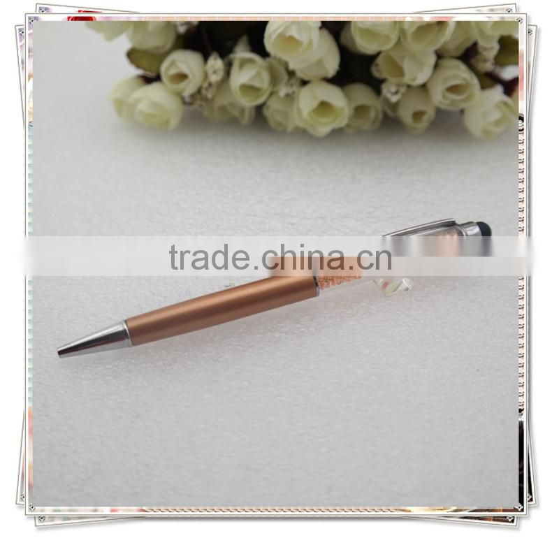 TCR-03 cheap bling crystal pens , touch pen for galaxy s4