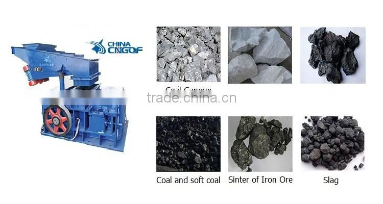 Great quality double teeth roller crusher for coal,limestone,stone crushing