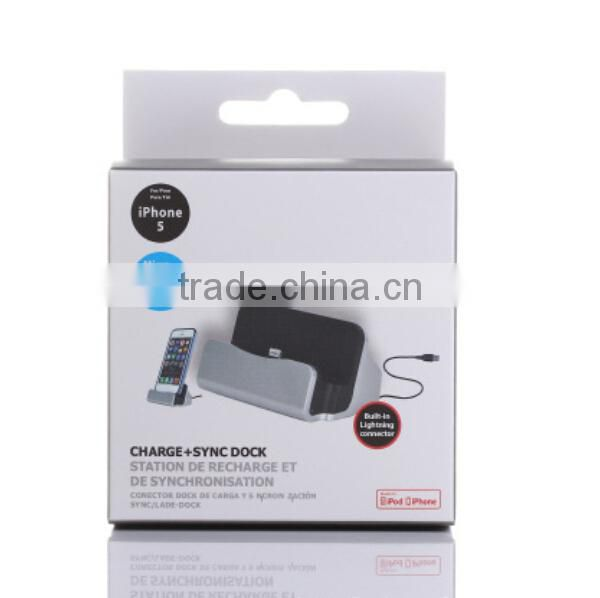 2015 Hot selling charger for iphone with USB cable