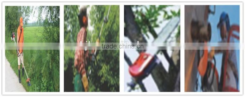 Double Edge Blade Petrol gas trimmer for cutting tree,petrol brush