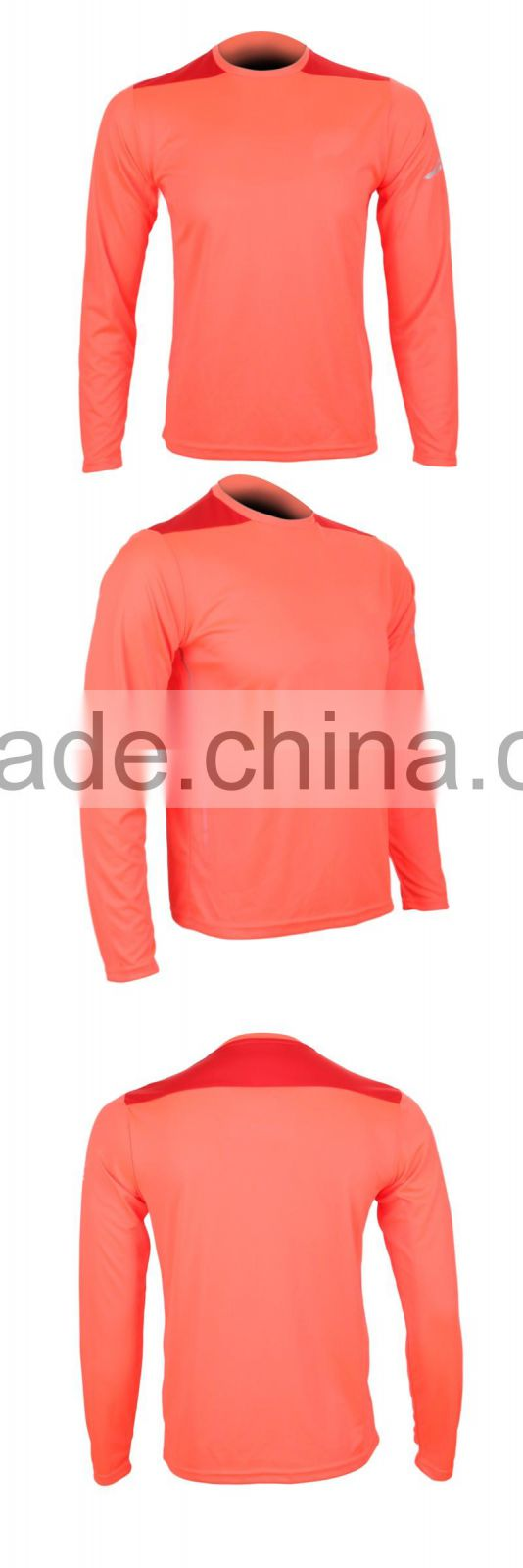 Wholesale Mens Plain Long Sleeve Thermal T Shirt for Sports Fitness