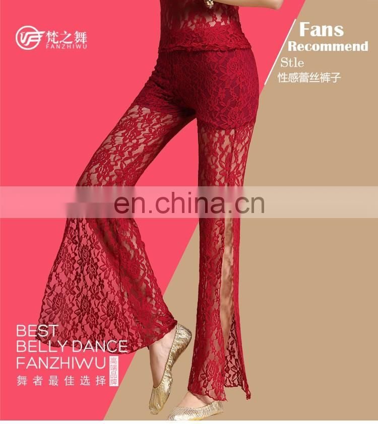 K-4044 High quality sexy lace women belly dance pant