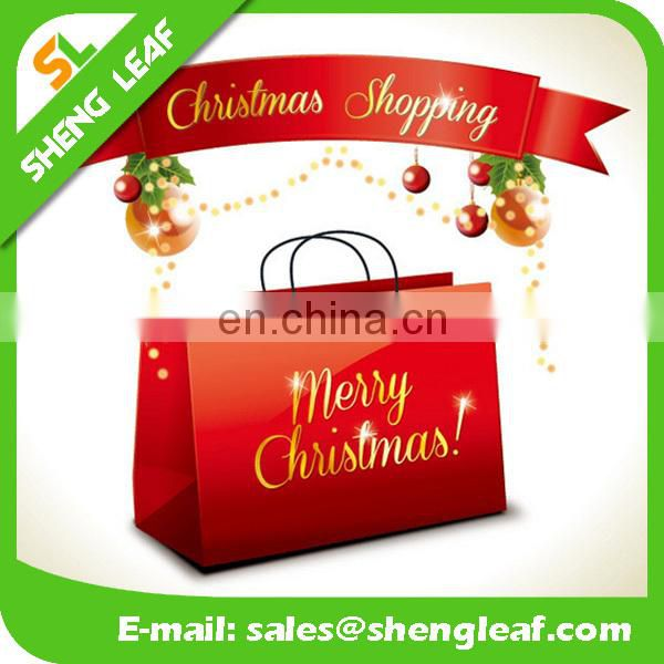 2017 best design of christmas paper bag greetted Christmas Day