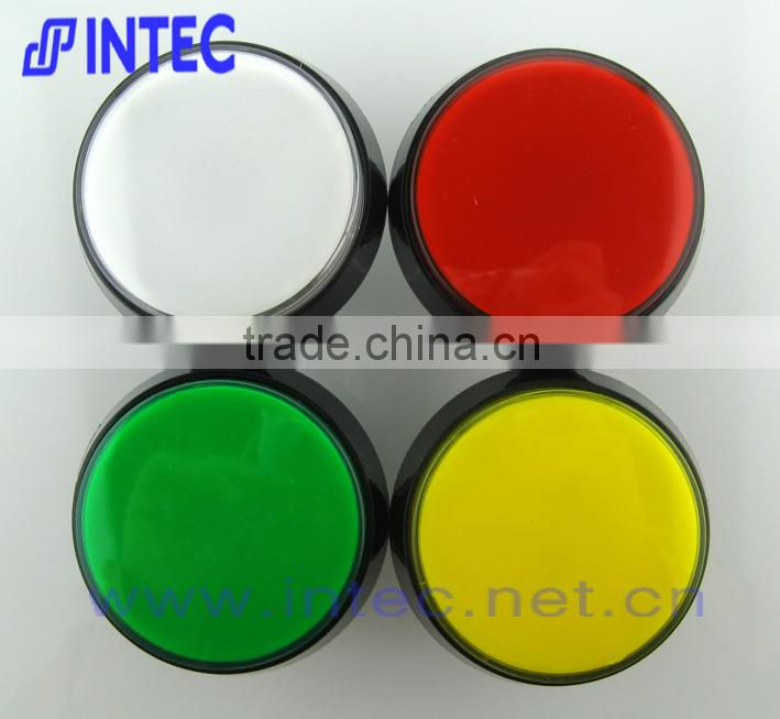 Arcade game push button,game machine push button,round led push button