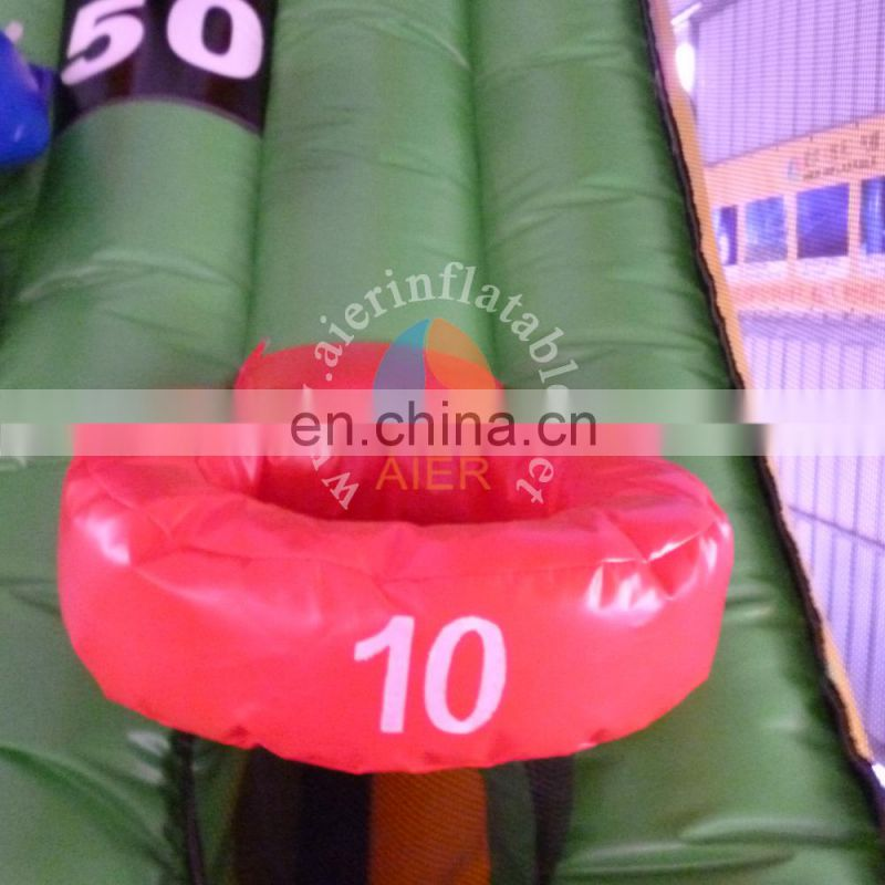 Customized inflatable sport games for adult / inflatable basketball hoop for sale