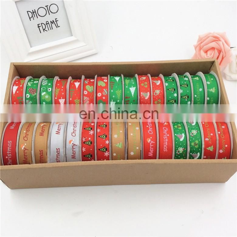merry christmas ribbon bobbin christmas variety pack grosgrain and satin ribbon