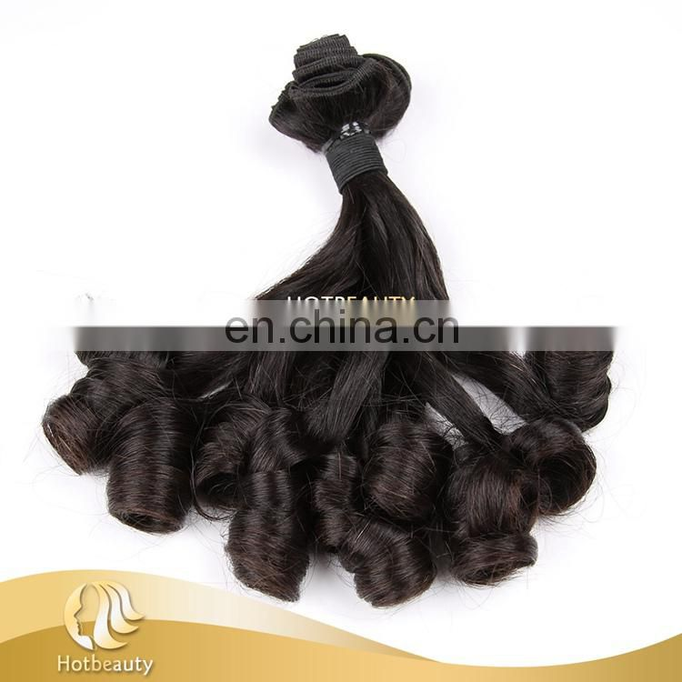 Hot Beauty Top Quality Hot Sale Funmi Human Virgin Hair Extension Spiral Curl