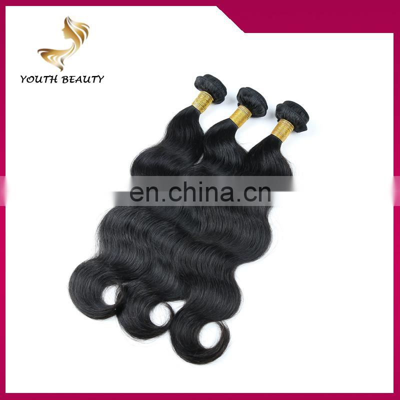 Youth Beauty Hair 100% chinese girl 7A grade hair weft full cuticle factory price