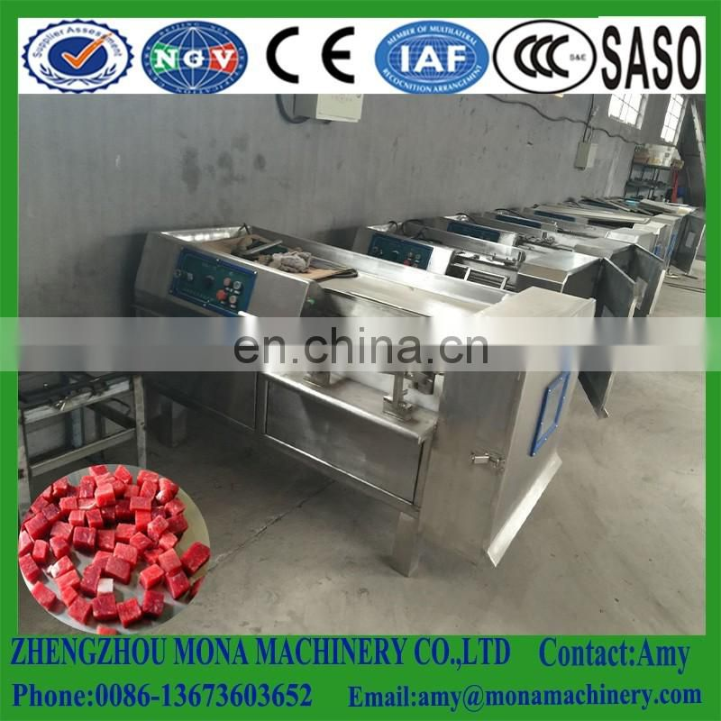 2018 Multi-function industrial frozen meat dice cube cutting machine