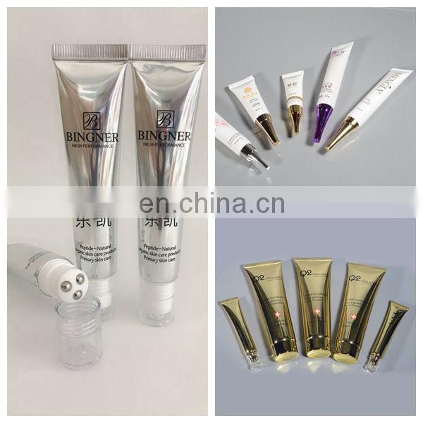 Aluminum PP Empty Black Plastic Soft Tube Free Sample for Cream Packaging