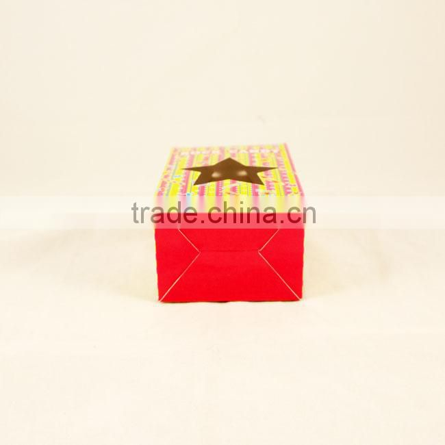 Custom paper box of candy