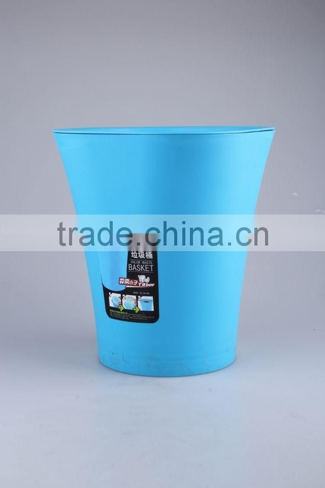 Plastic Trash Can Household Garbage Can/Rubbish Bin