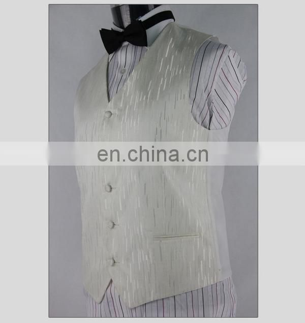 Fashionable Hot Selling Cheap Wedding Fashion Men's Vest