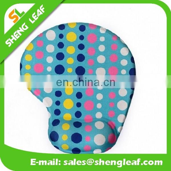wholesale customized Logo custom gel mouse pad with wrist rest