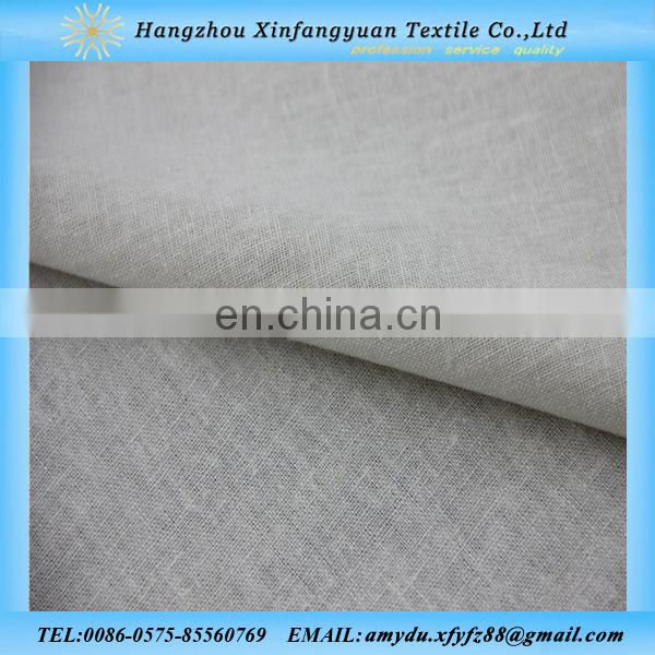 indian fabric linen viscose blend fabric for table linen