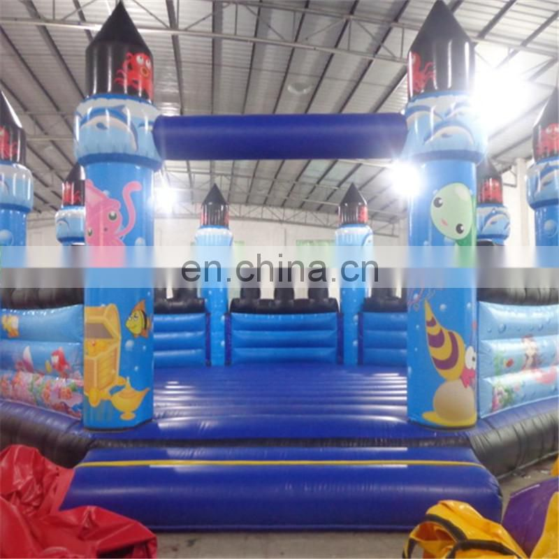 Ocean Inflatable fun city inflatable giant bouncer children outdoor playground equipment